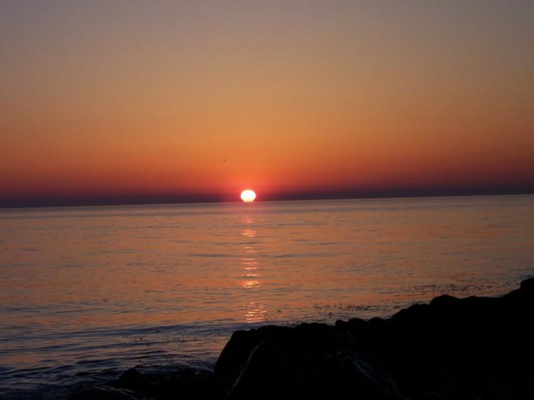 Sandy Hook Late April Sunrise