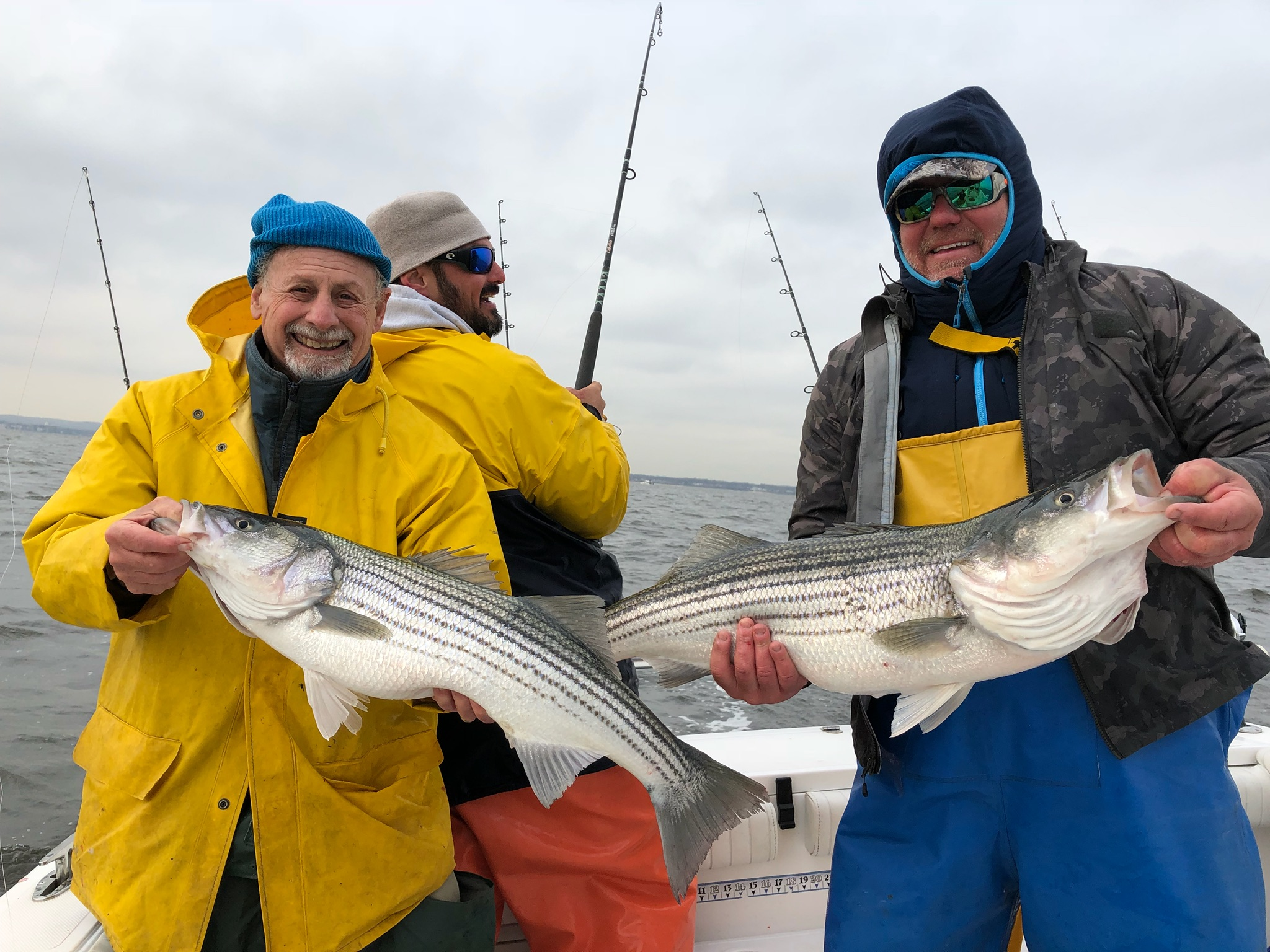 Ty Man morning stripers