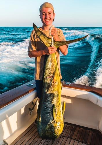 dolphin 66 lb Eddie Kelly